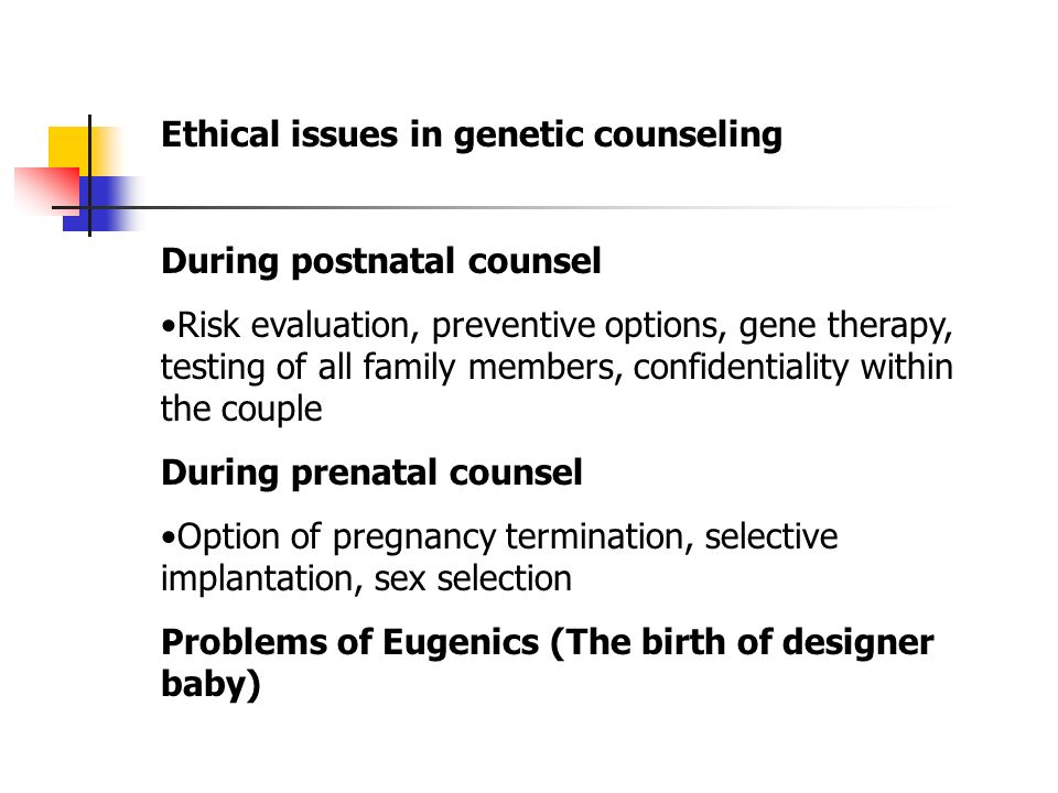 Genetic selection law ethics sex