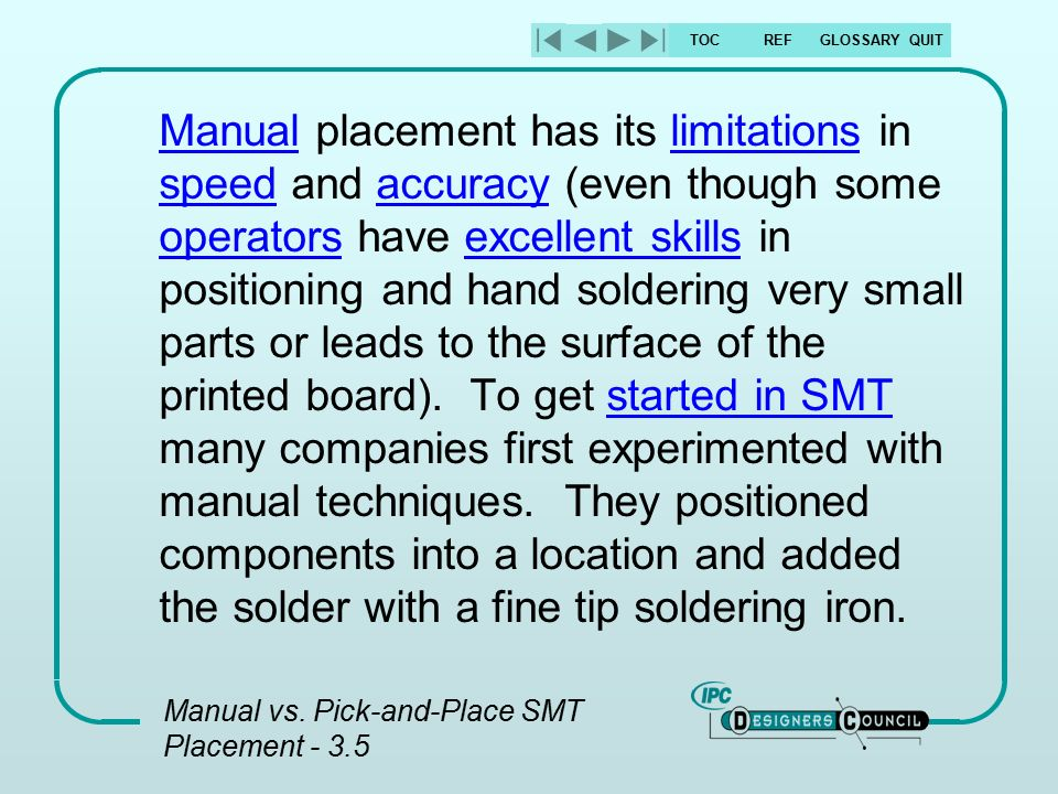 manual smt pick and place