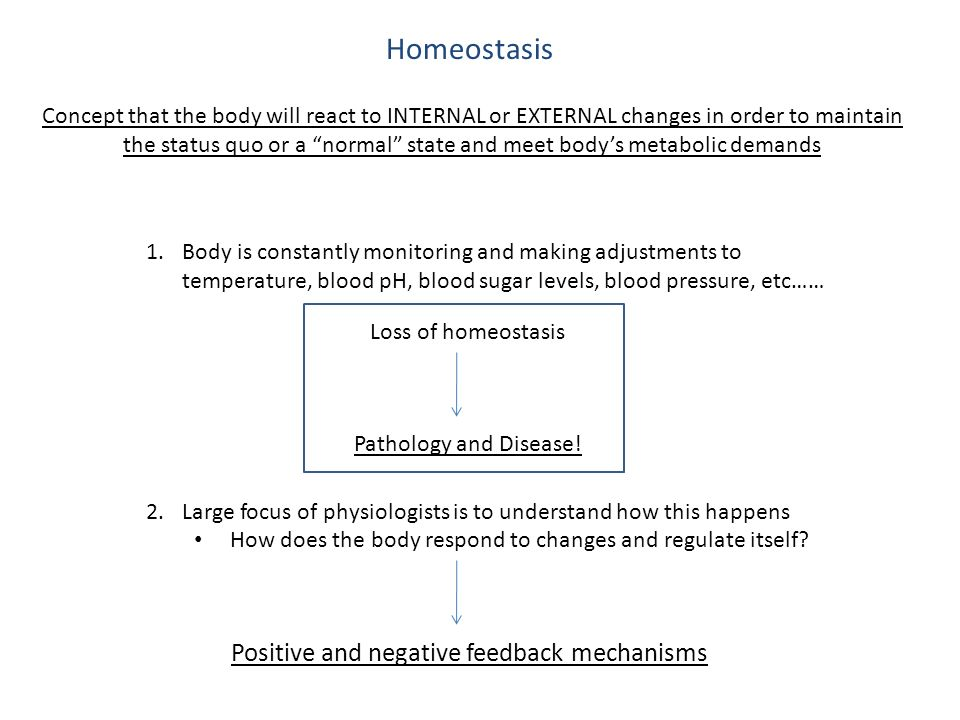 understand how homeostatic mechanisms operate in Acid-base homeostasis is the homeostatic regulation of  stringent mechanisms therefore exist to maintain  this is because they operate by making.