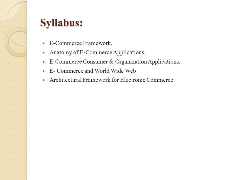 MODULE1 INTRODUCTION TO ELECTRONIC COMMERCE
