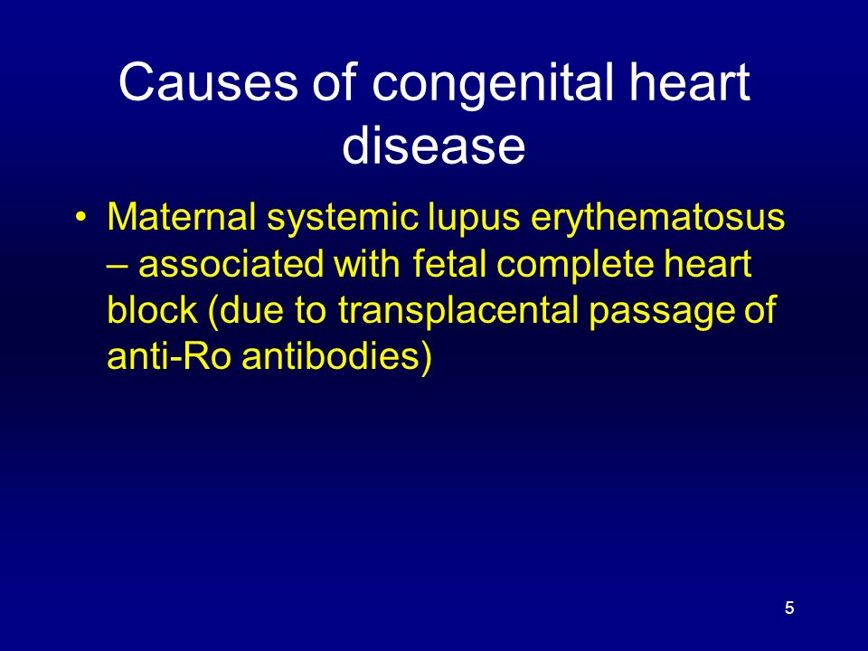 Congenital Heart Disease - ppt video online download