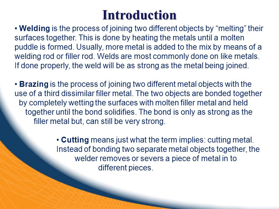 welding brazing and cutting of metals glossary