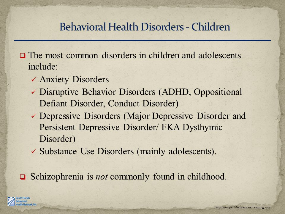 behavioral issues in preschoolers psychotropic medications and clinical practice children 131