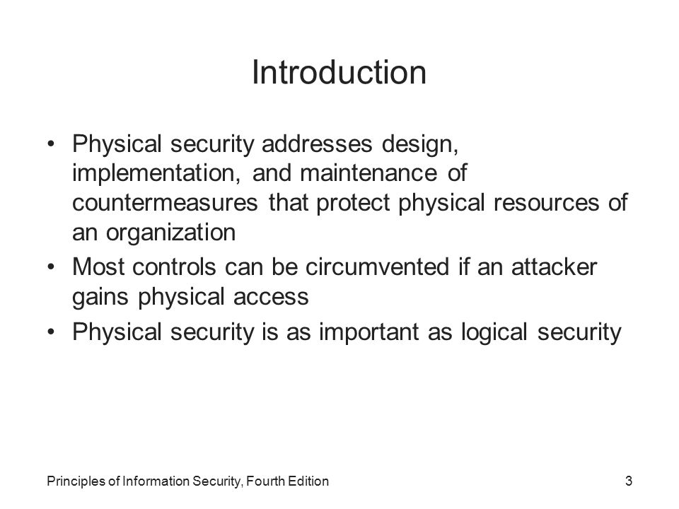 an introduction to the importance of security in organizations This paper focuses on the organizational level as well as the importance of each  it all sounds great in theory, but what are some next-generation security.