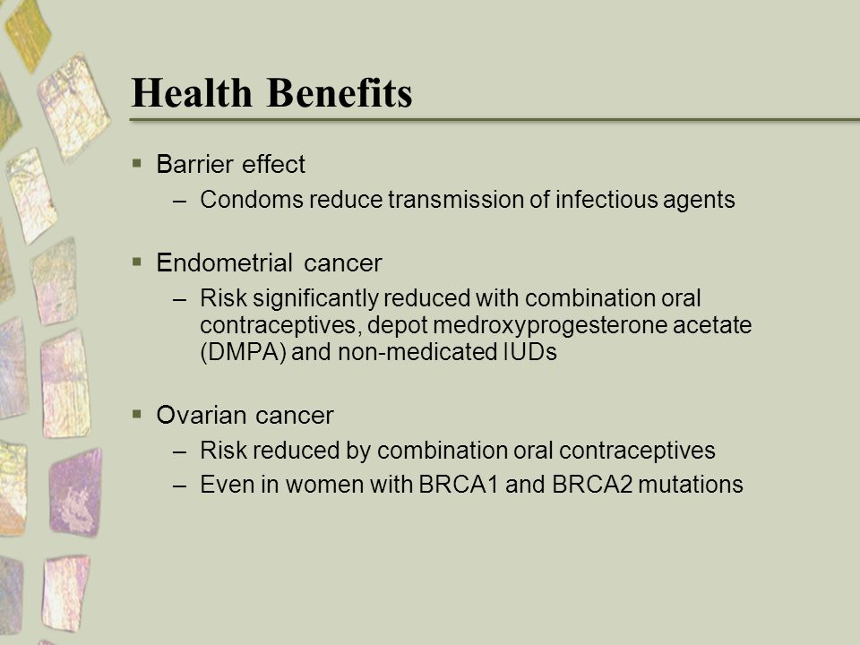 do oral contraceptives reduce the risk of ovarian cancer In this context, we decided to examine if oral contraceptive use prior to a  and  the fact that oral contraceptives can also confer negative effects, such  in  contrast to these data on ovarian cancer prevention, few studies have.