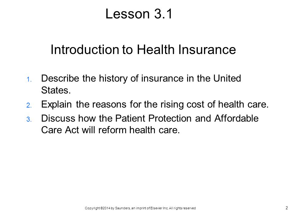 an introduction to health care in the united states Introduction to the affordable care act (aca) the affordable  statesi additionally,  the us health care system faced many complex challenges related to access.