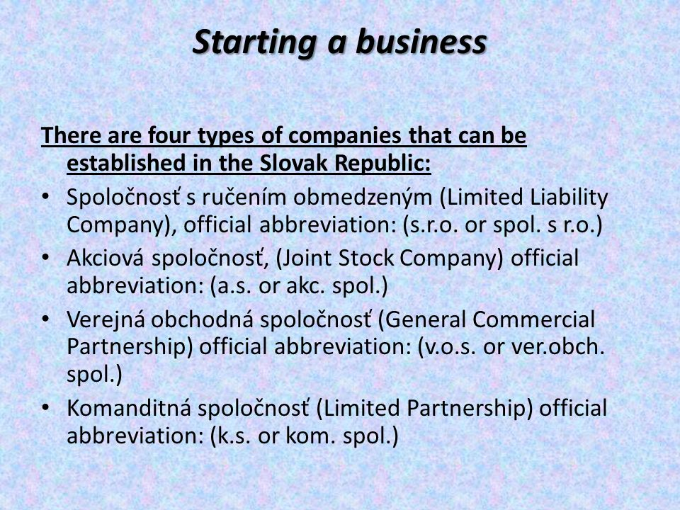 Starting Business in Slovakia | AbroadBiz Consulting