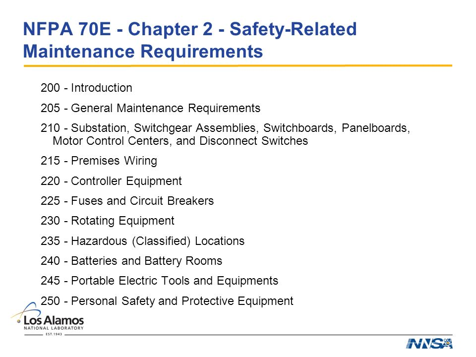 Electrical codes and standards for r d ppt video online for Room design method nfpa 13