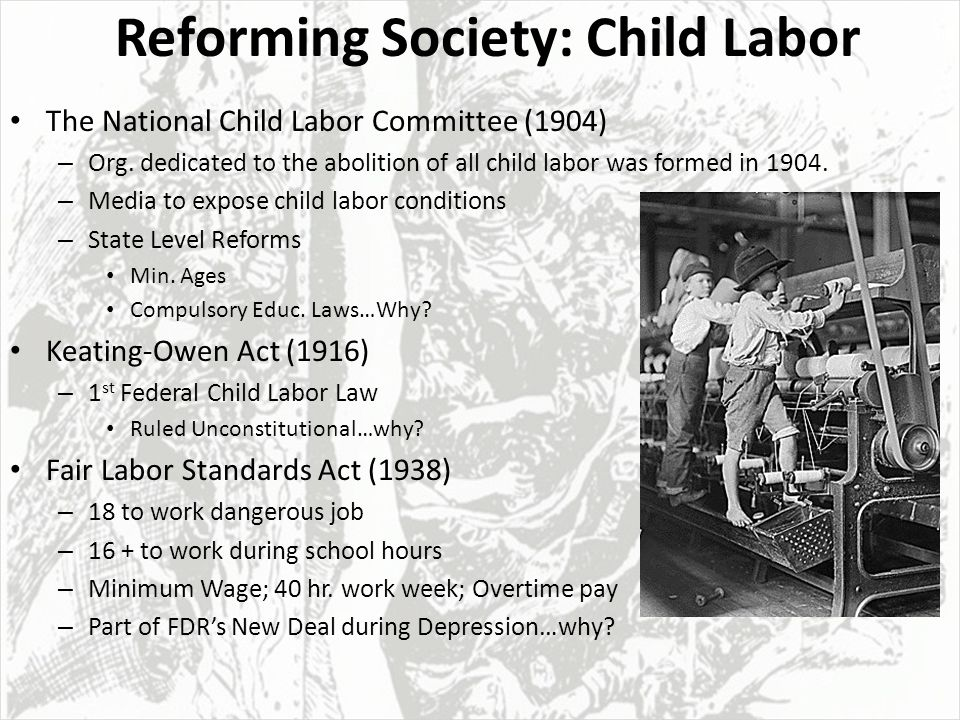 Child labour law