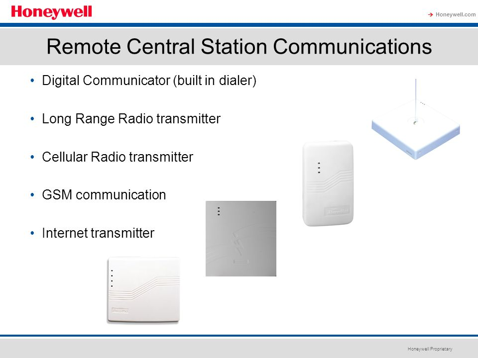 Remote Central Station Communications
