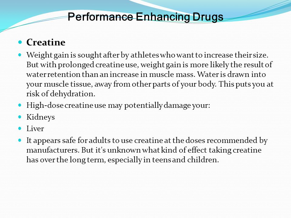 An Overview of Creatine Supplements