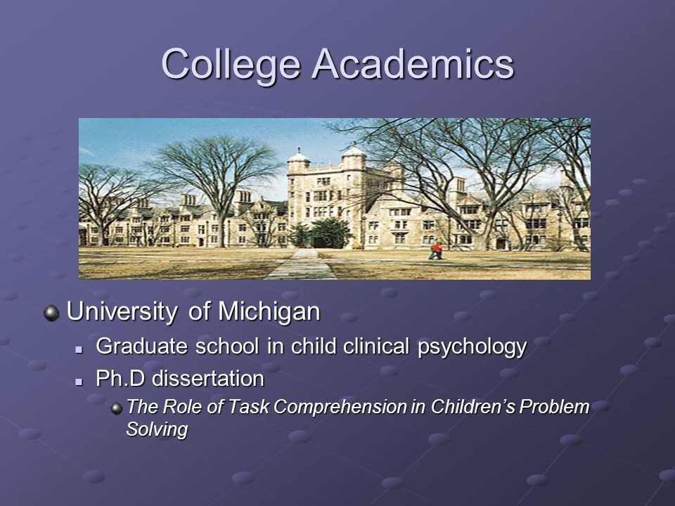 ph d dissertation university of michigan Things you need to know about ph d dissertation university of michigan, until the end christopher pike book review, dean koontz frankenstein book 5 review, huczynski.