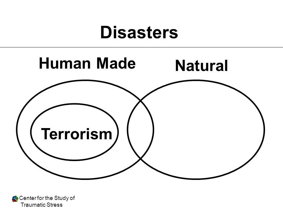 Disasters Human Made Natural Terrorism
