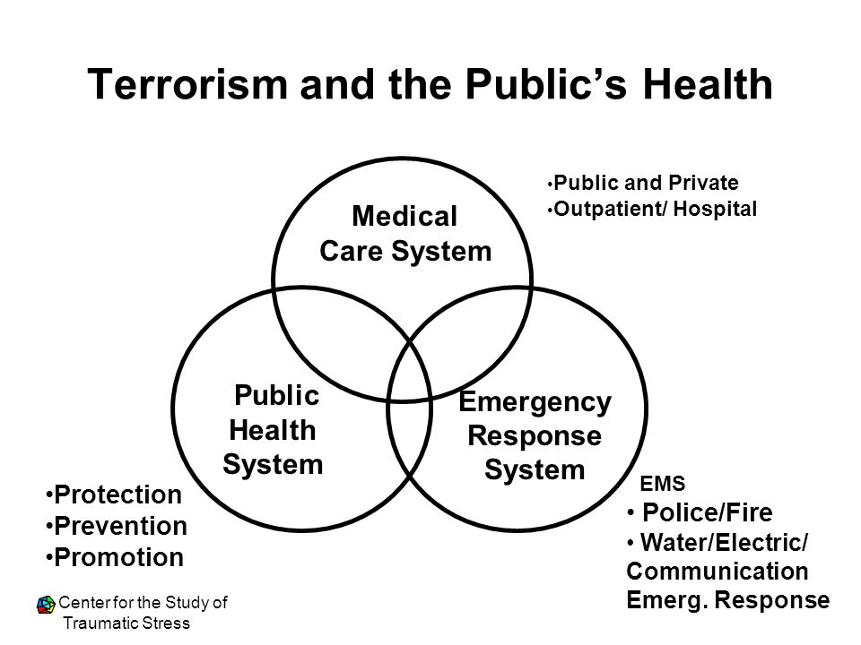Terrorism and the Public's Health