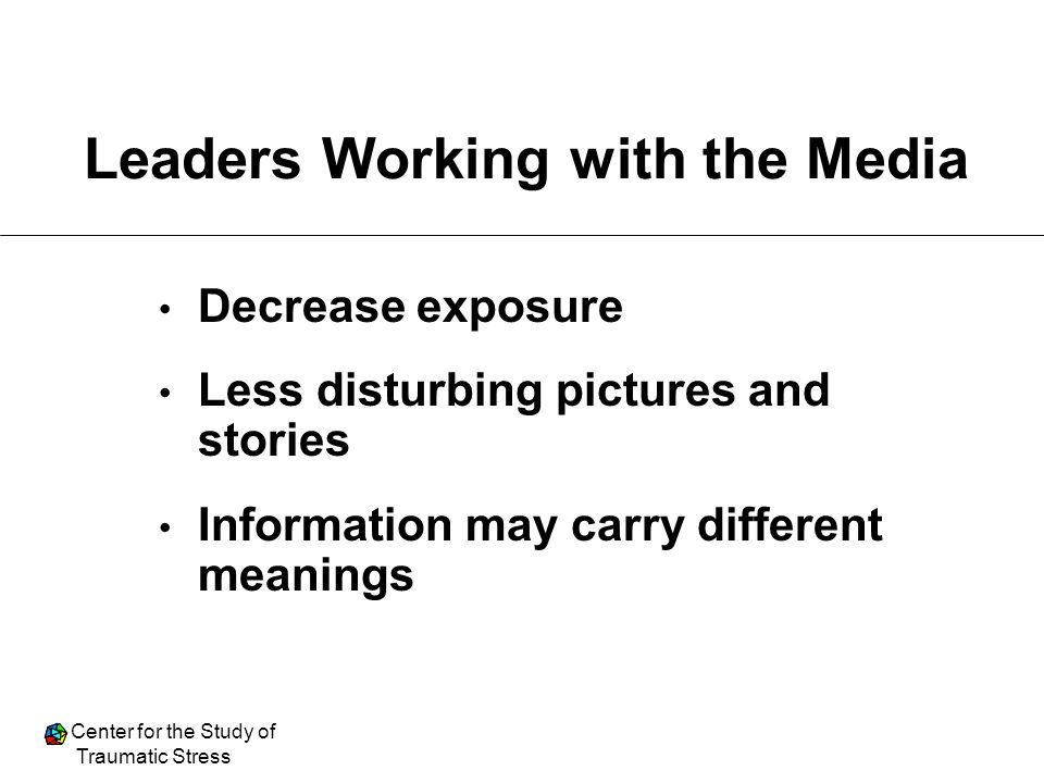 Leaders Working with the Media