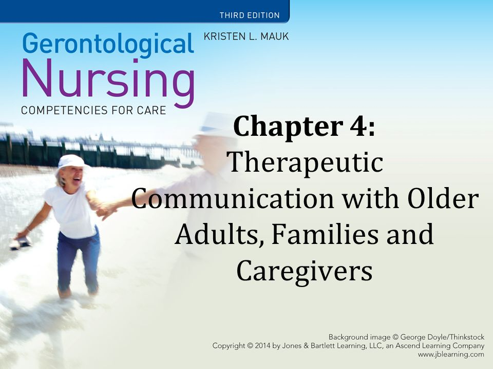 Learning Objectives State the importance of communication with older  adults  Identify effective and ineffective communication strategies   Understand how