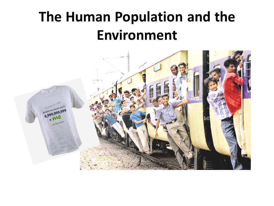 Environment and population