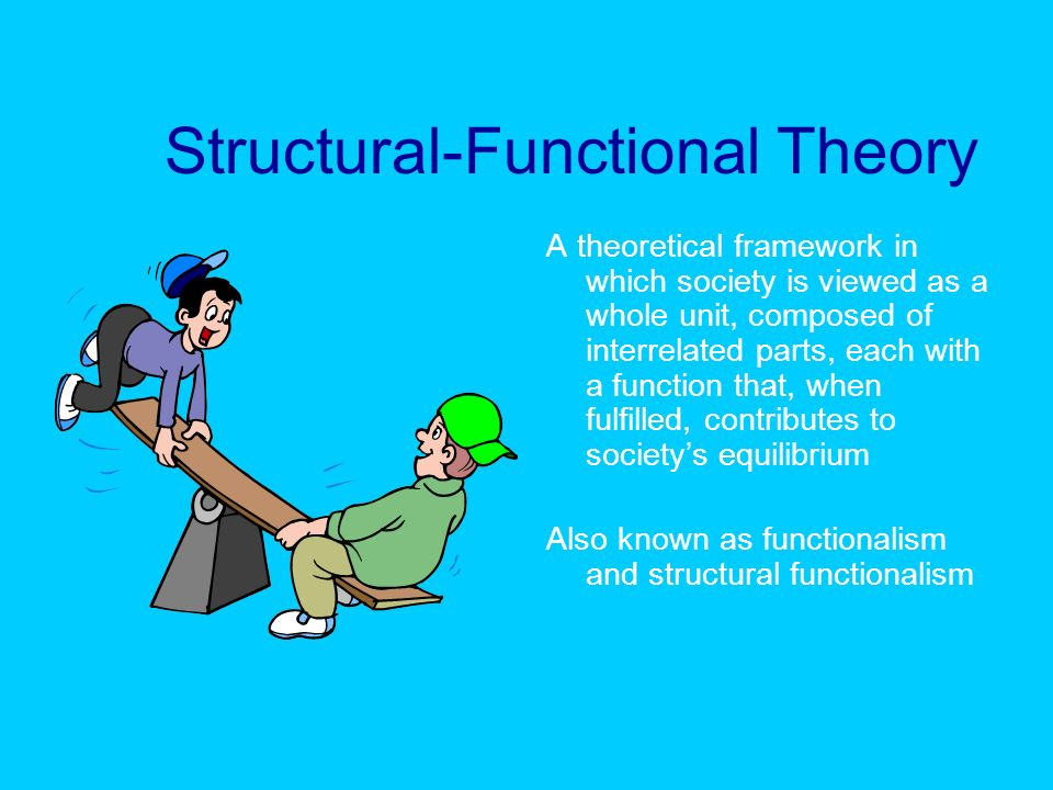 structural functional approach to education What are some examples of functionalist perspective in sociology  the structural-functional approach is a perspective in sociology that sees  education, for.