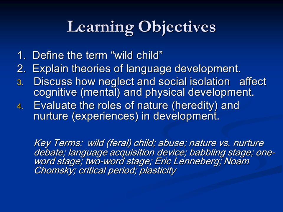 nature nurture child development essay The nature versus nurture debate involves whether human john locke's an essay concerning can have a positive effect on the development of their children.