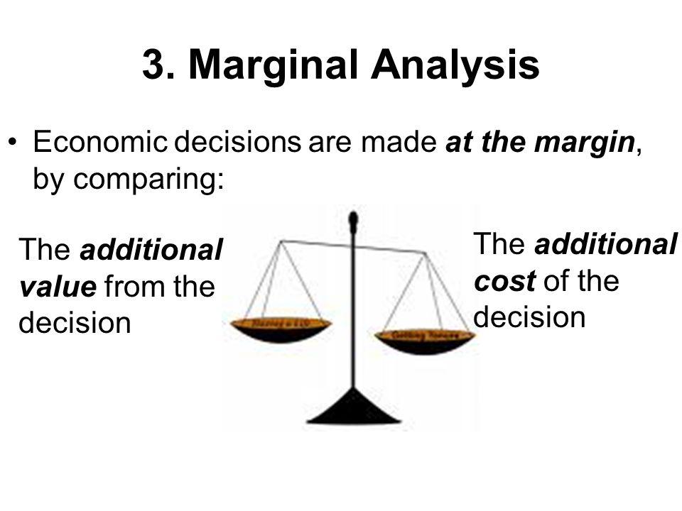 marginal analysis in economics pdf