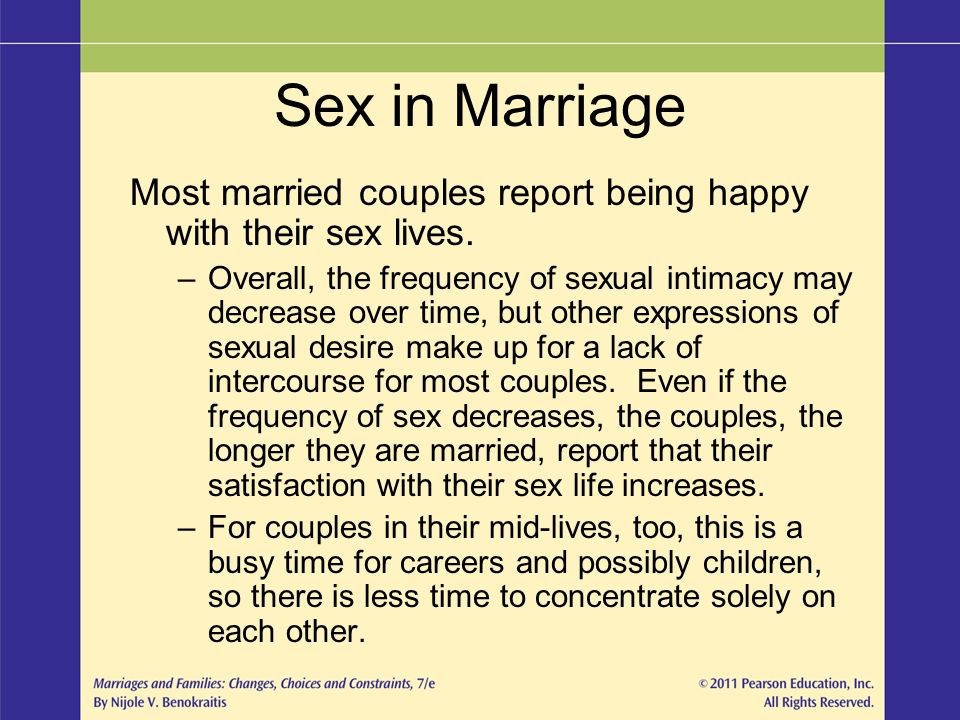 Married Sex Frequency 119