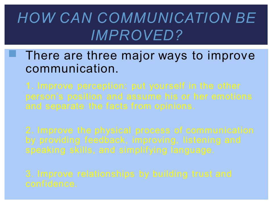 understanding effective communication techniques ppt