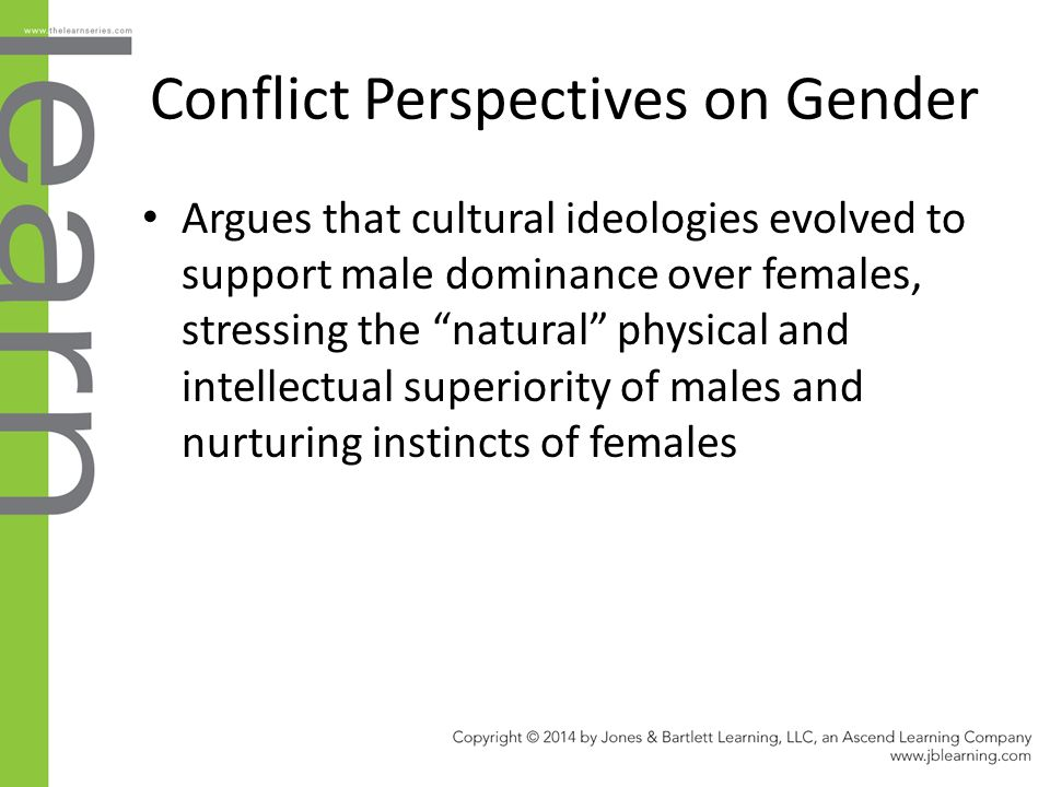 compare and contrast gender roles and marriage The comparison of sex role modern and sex role traditional family members  reveals  only married couples were allowed to participate in the study  by  contrast, wives perceived only the automobile and insurance decisions to be  dominated.