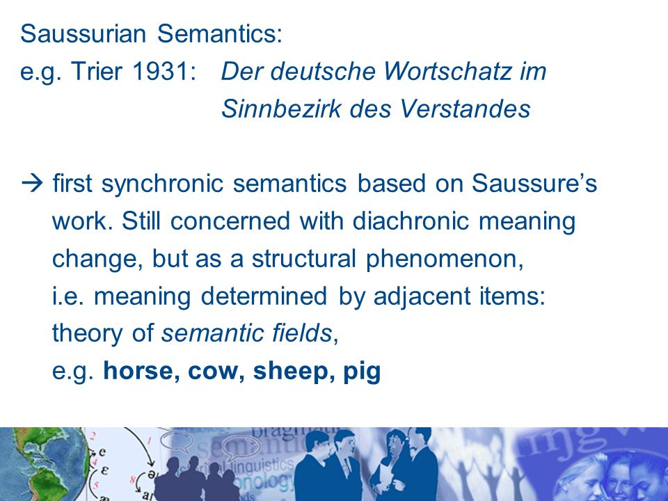 the history of semantics The vision of the semantic web is alive and well, in the evolving ecosystem of intelligent assistants.