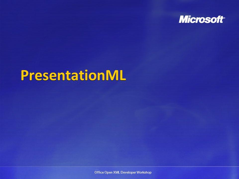 PresentationML