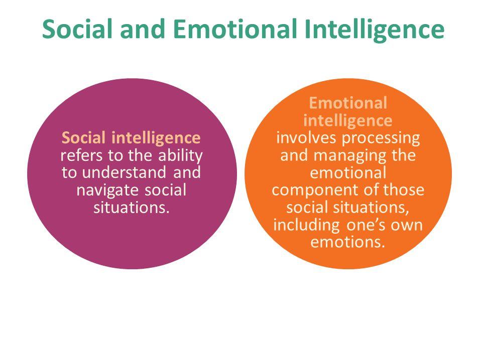 Social And Emotional Intelligence Skills