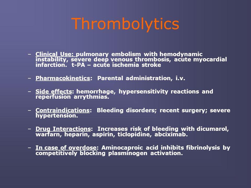 Anticoagulant, Thrombolytic, and Antiplatelet Drugs - ppt ... - photo #2