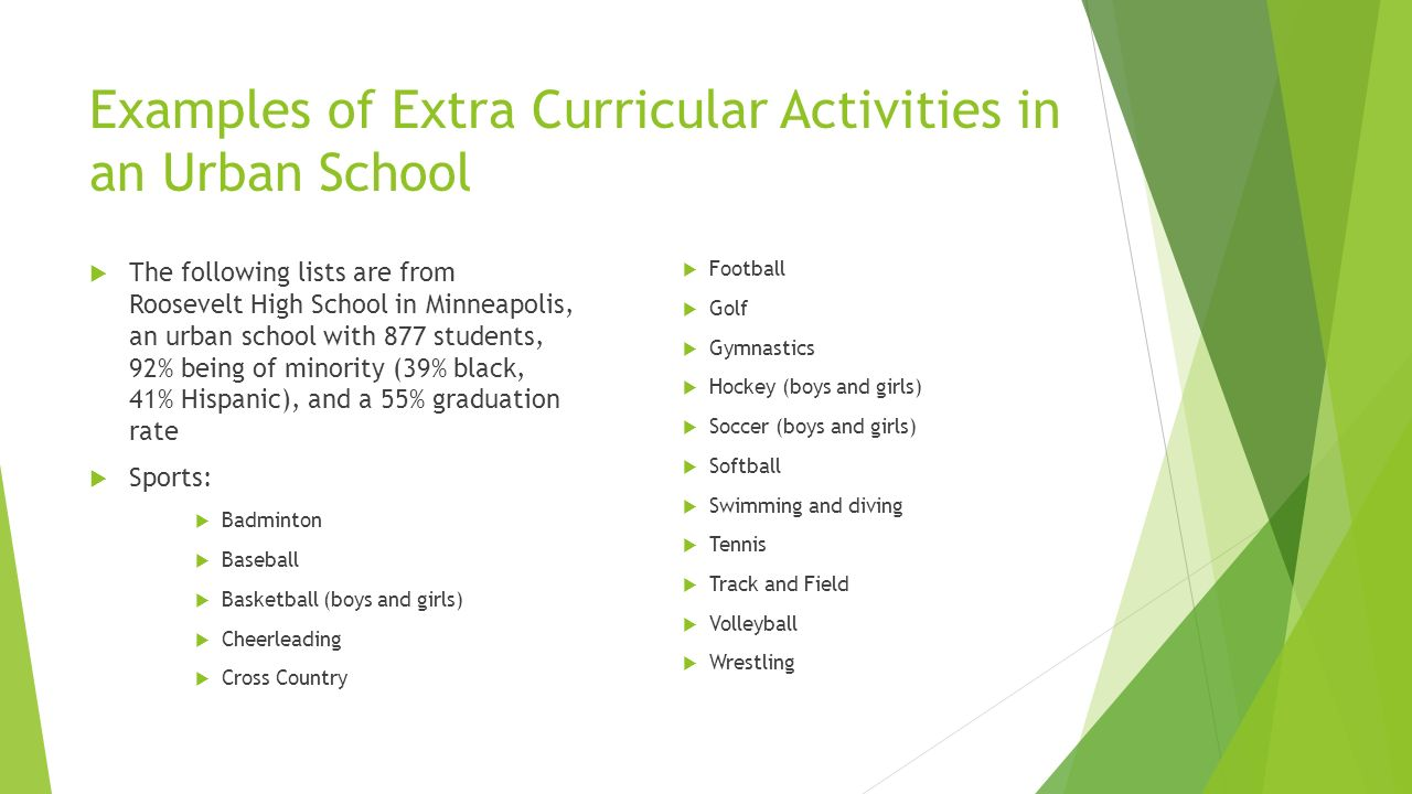 extracurricular activities in school as the stressors in high school students The himalayan times  opinion  academic stress at schools: causes   curriculum and extra-curricular activities, high student-teacher ratio,.