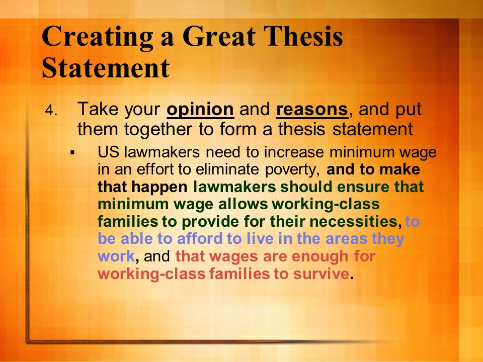 creating thesis statement essay Homework help chats creating a thesis statement check out how to form a thesis statement for a research papertolerance essay creating a thesis statement.