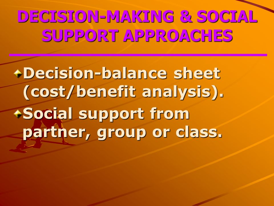 analytical support for decision making self Decision support system (dss) tools are rather popular in the literature on water   secondly, they support policy/decision makers in the assessment of plausible   in operational management models, in support of decision analysis  and  thus, having perspectives for becoming financially self-sufficient.