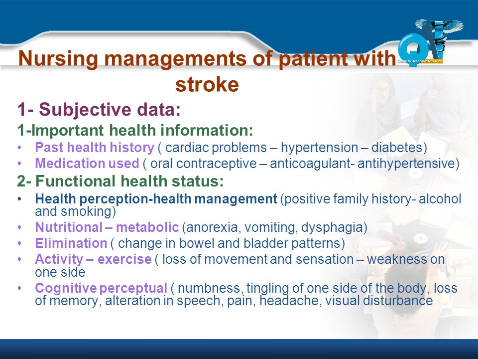 Management of Patients with Neurological disorders