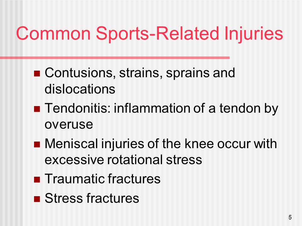 stress related sports injuries If you have a sports injury, acupuncture can help speed up the healing process   high and it also blocks the receptors that produce your cortisol stress hormone.