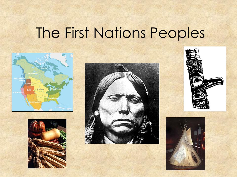 The First Nations Peoples