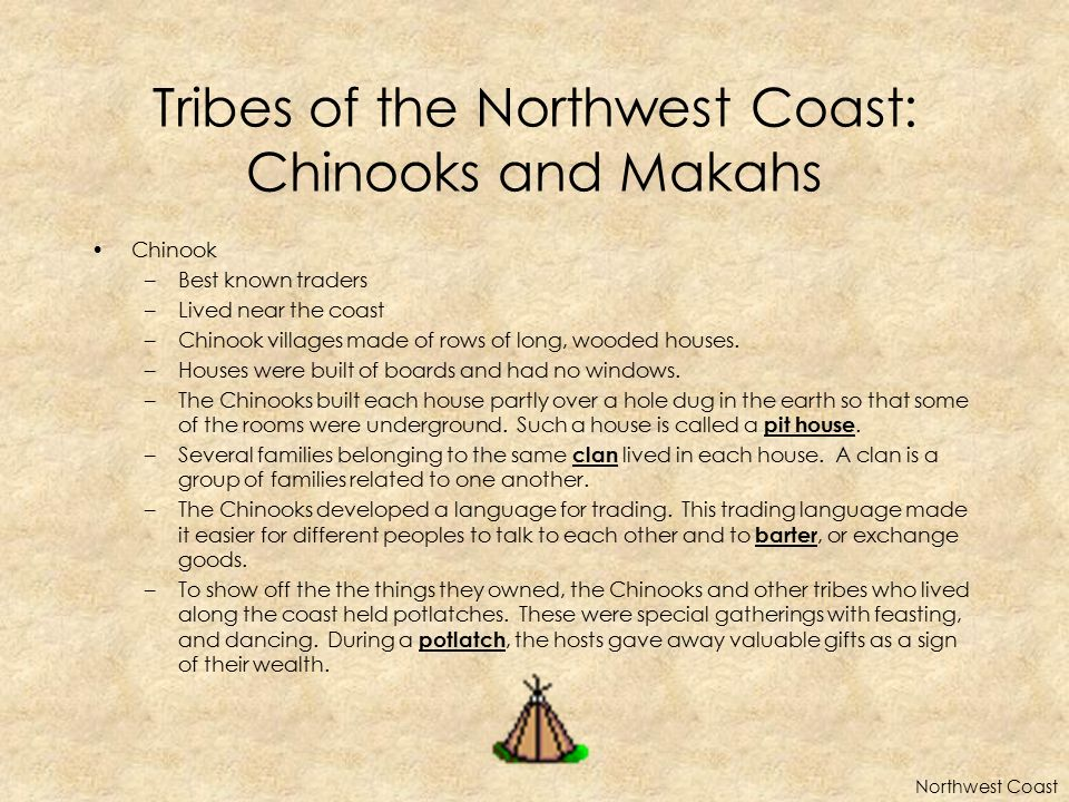 Tribes of the Northwest Coast: Chinooks and Makahs