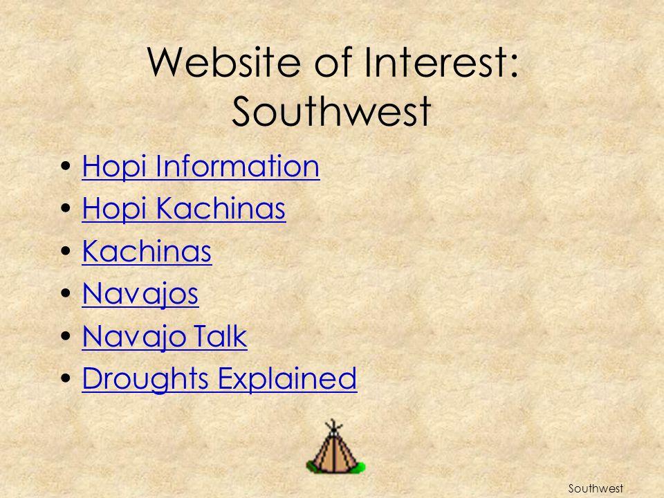 Website of Interest: Southwest