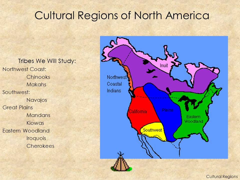 Cultural Regions of North America
