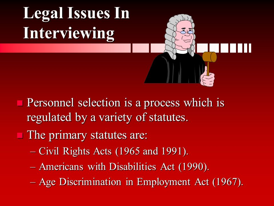 legal issues in interviewing Do you see me ethical considerations of the homeless  ethical considerations of the homeless 1  researchers identify issues that should be.