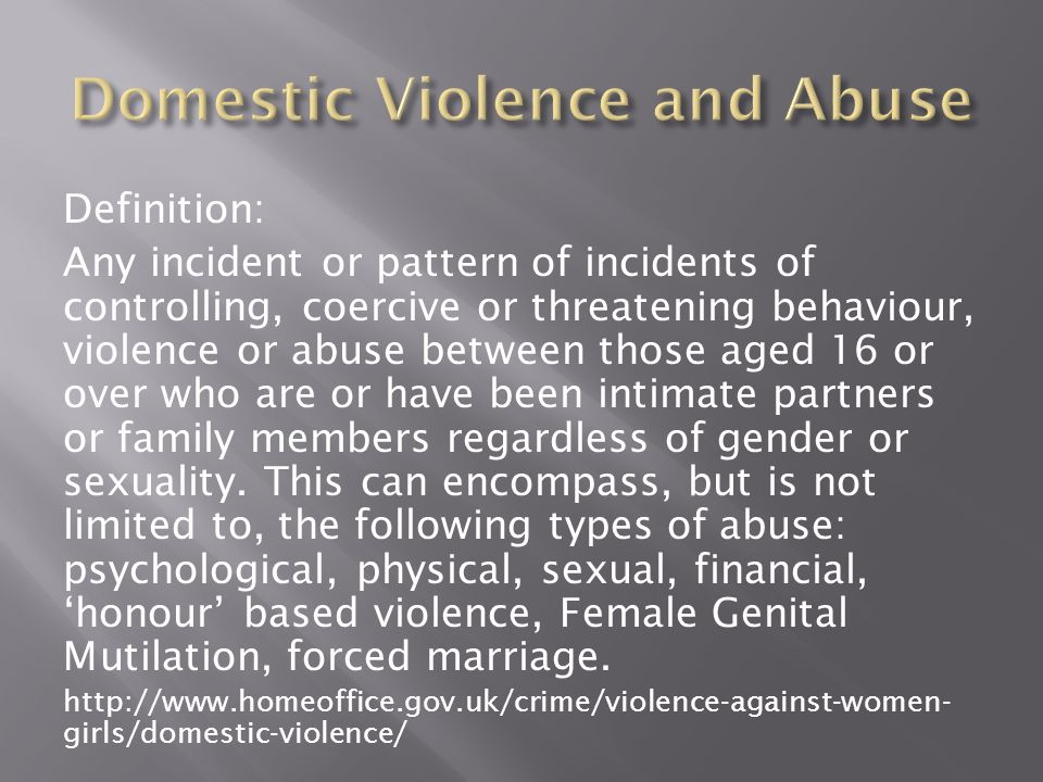 definition domestic violence The national coalition against domestic violence (ncadv) is the voice of victims and survivors we are the catalyst for changing society to have zero tolerance for domestic violence we do this by affecting public policy, increasing understanding of the impact of domestic violence, and providing programs and education that drive that change.