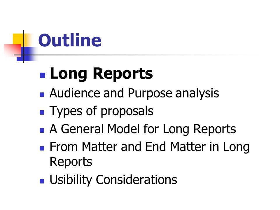 Different Types of Reports Used in Business
