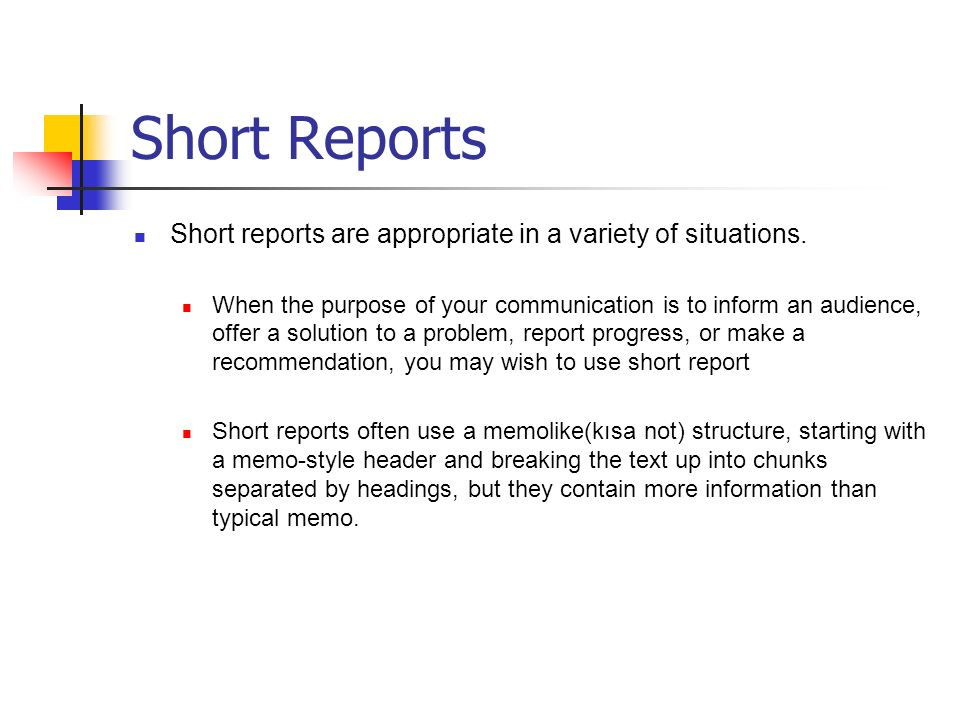 Short And Long Reports Proposals And How To Read Paper  Ppt