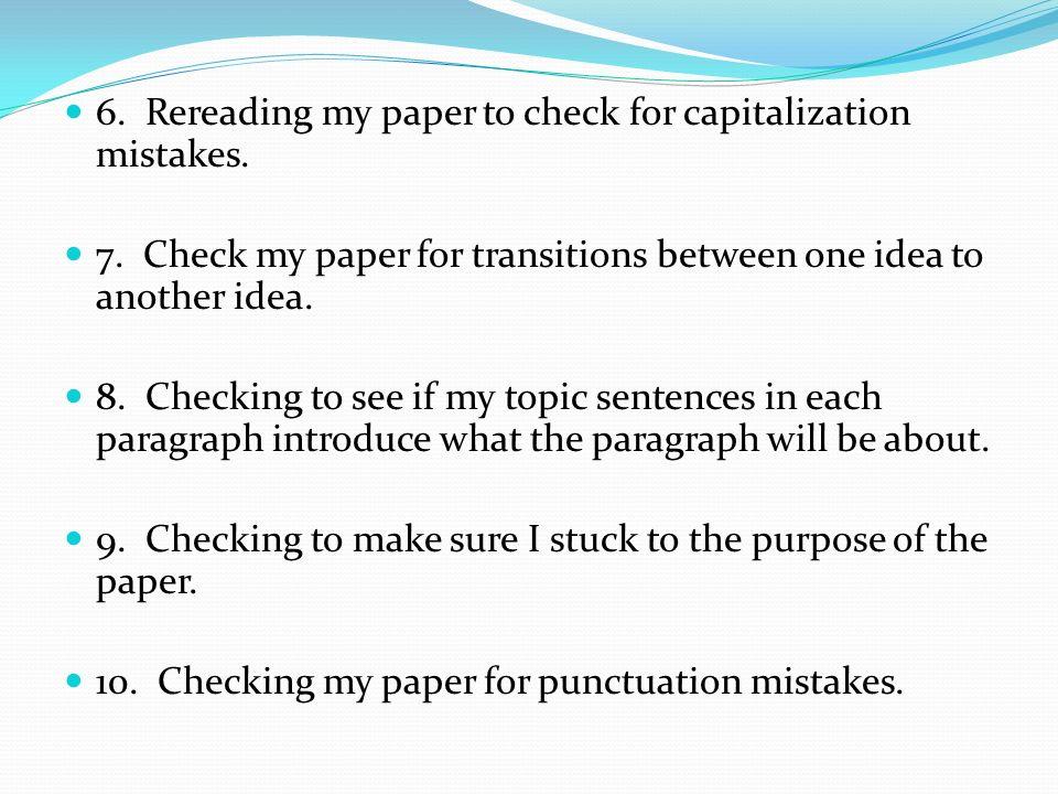 checking essays