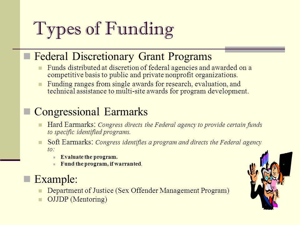 an introduction to the federal funding program The federal government does not offer grants for starting or growing a business it only provides grants for non-commercial organizations (nonprofits and educational institutions) in medicine, technology development, and related fields.