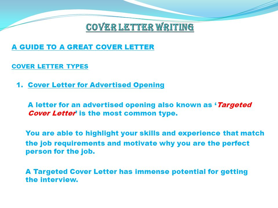 By h sey n g rsev spring ppt download for Cover letter for potential job opening