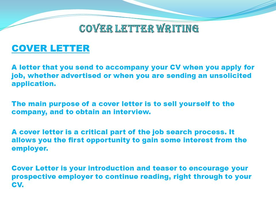 Sample Cover Letter For Job Opening When Targeted Cover Letter