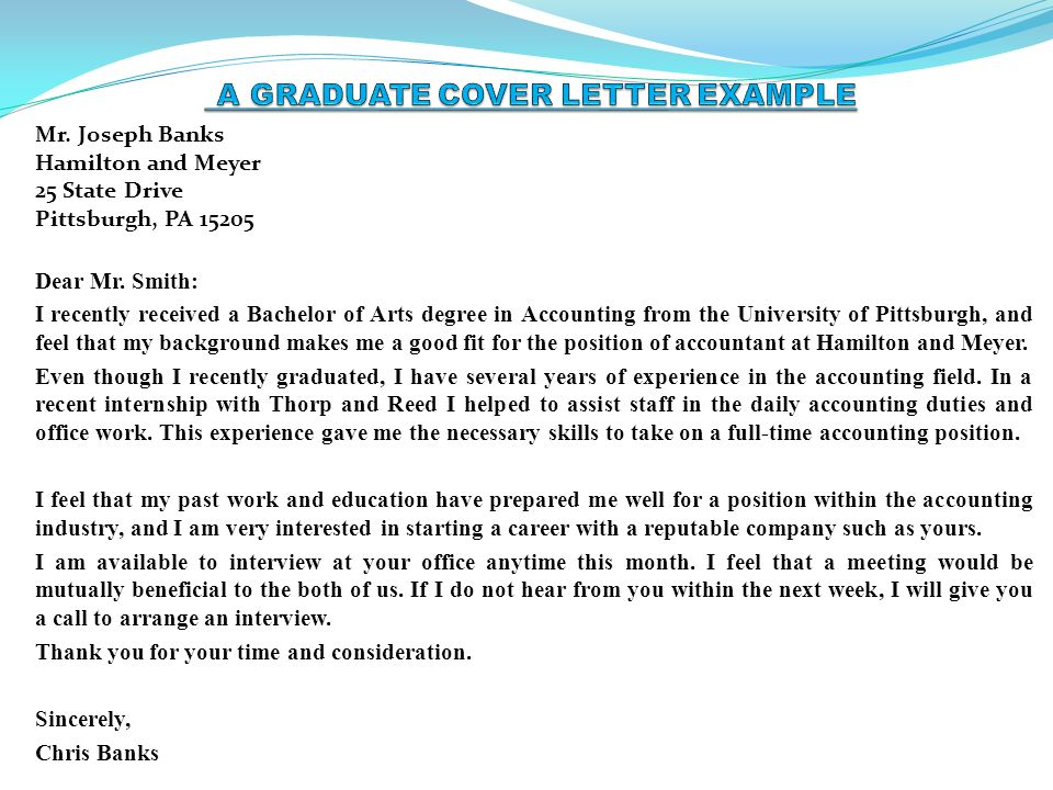 Pitt career services cover letter