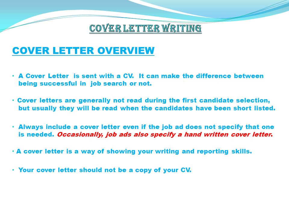 what is the difference between cv and cover letter - difference between application letter and cv